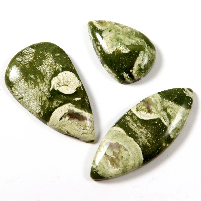 Rhyolite-Natural-Gemstone-3-Pcs-Wholesale-Lot-Cabochon-79-6ct-LBC65